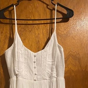 White Baby Shower Dress